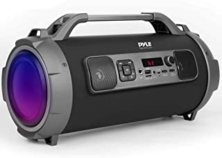 Wireless Portable Bluetooth Boombox Speaker - 500W Rechargeable Boom Box Speaker Portable Barrel Loud Stereo System with A...