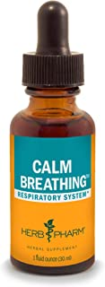 Herb Pharm Calm Breathing Liquid Formula for Respiratory Support - 1 Ounce