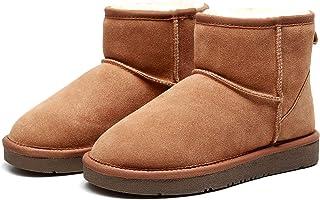 Best Gift Choice UGG Classic Ankle Boot - Australian Sheepskin Inner, Water Resistant, Anti-Slip