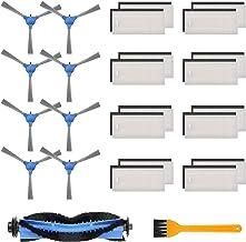 morpilot 26 stuks Accessoires voor Eufy RoboVac 11S, 12 15 30 30C 35C, Robotstofzuigerfilter/Zijborstel/Rolborstel, Eufy S...