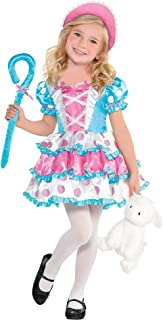 Suit Yourself Little Bo Peep Halloween Costume for Girls, Includes Accessories