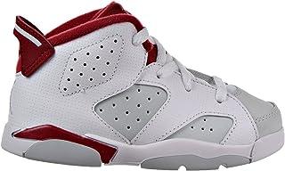 6fda966dce Jordan 6 Retro BT Infants/Toddlers Shoes White/Gym Red/Platinum White 384667
