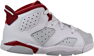 6 Retro BT Infants/Toddlers Shoes White/Gym Red/Platinum White 384667-113