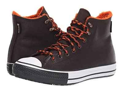Converse Chuck Taylor All Star Winter Hi (Velvet Brown/Campfire Orange/White) Shoes