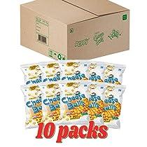 PEPPY Cheeseballs Jumbo Box Pouch, 10 x 70 g