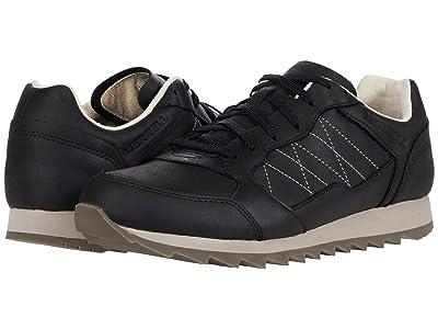 Merrell Alpine Sneaker (Black Leather) Men