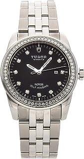 Tudor Glamour機械式(自動) ブラックダイヤル レディース腕時計 53020 (認定中古品)