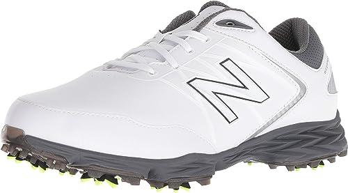New Balance Men's Minimus Golf Shoe, Grey/Green, 10 2E US