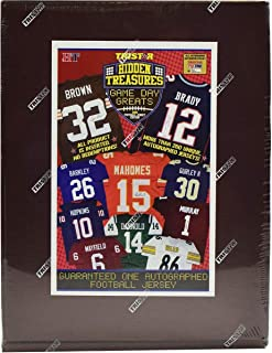 2019 Tristar Game Day Greats Autographed Football Jersey box