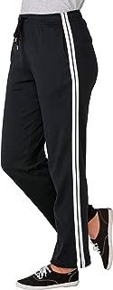Women's Plus Size Sport Knit Side-Stripe Pant