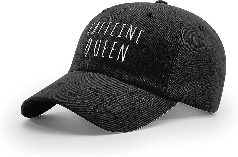 B Wear Sportswear Caffeine Queen Coffee Cute Women's Embroidered Richardson R55 Adjustable Cap Hat