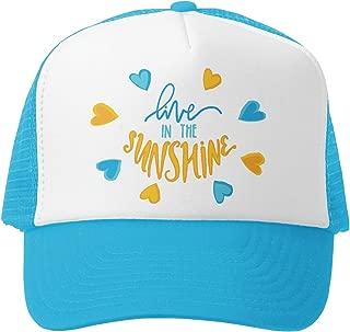 Kids Trucker Hat - Mesh Adjustable Baseball Cap for Boys & Girls - Baby, Infant, Toddler, School-Age Sizes