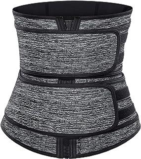 HOPLYNN Neoprene Sweat Waist Trainer Corset Trimmer Belt for Women Weight Loss, Waist Cincher Shaper Slimmer