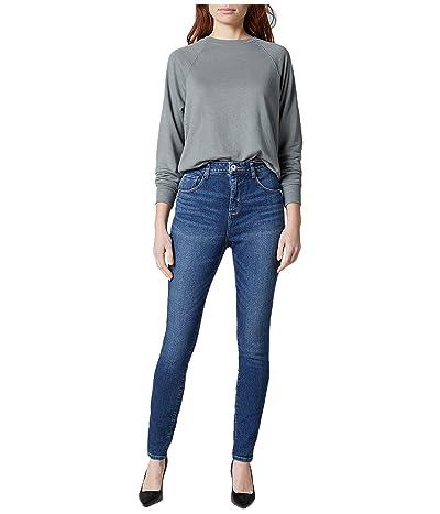 Jag Jeans Petite Petite Cecilia High-Rise Skinny Jeans (Tribeca Blue) Women