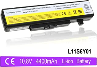 VUOHOEG Z380 Z480 Z580 Z585 G480 G580 Battery Replacement for Lenovo IdeaPad Y480 Y580 Series Compatible P/N:L11S6Y01 L11L6Y01 45N1043(10.8V 4400mAh)