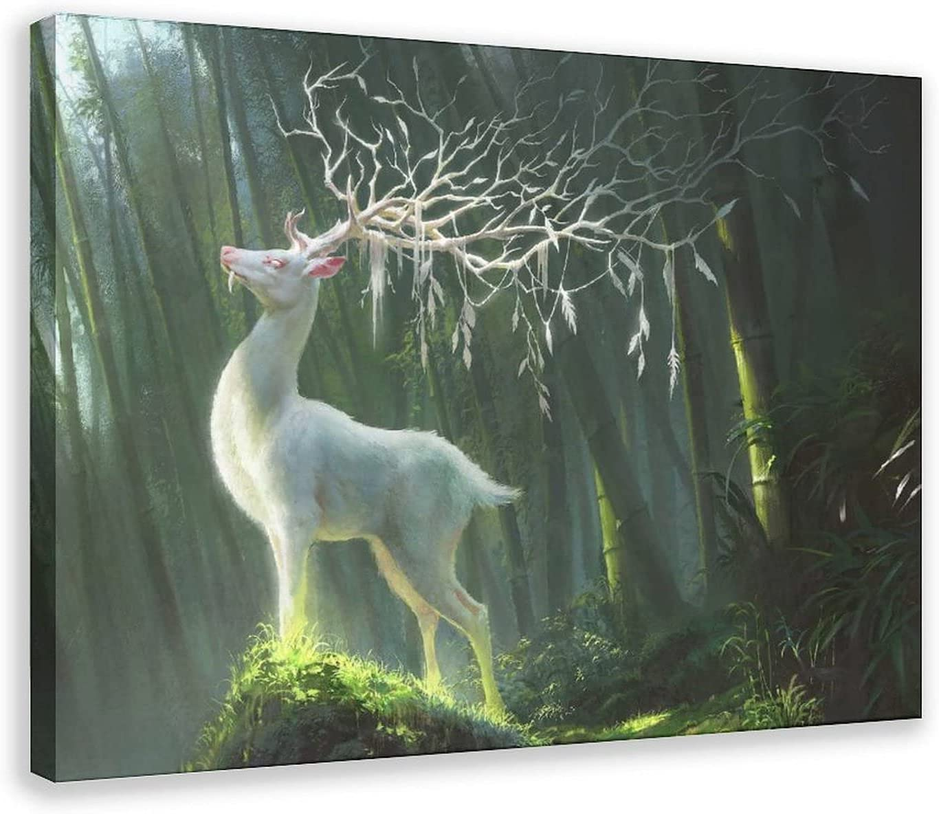 White Elk Poster Artistic Landscape Many popular brands Bedro Painting Limited time cheap sale Canvas