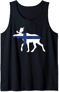 Finland Moose Flag Tank Top