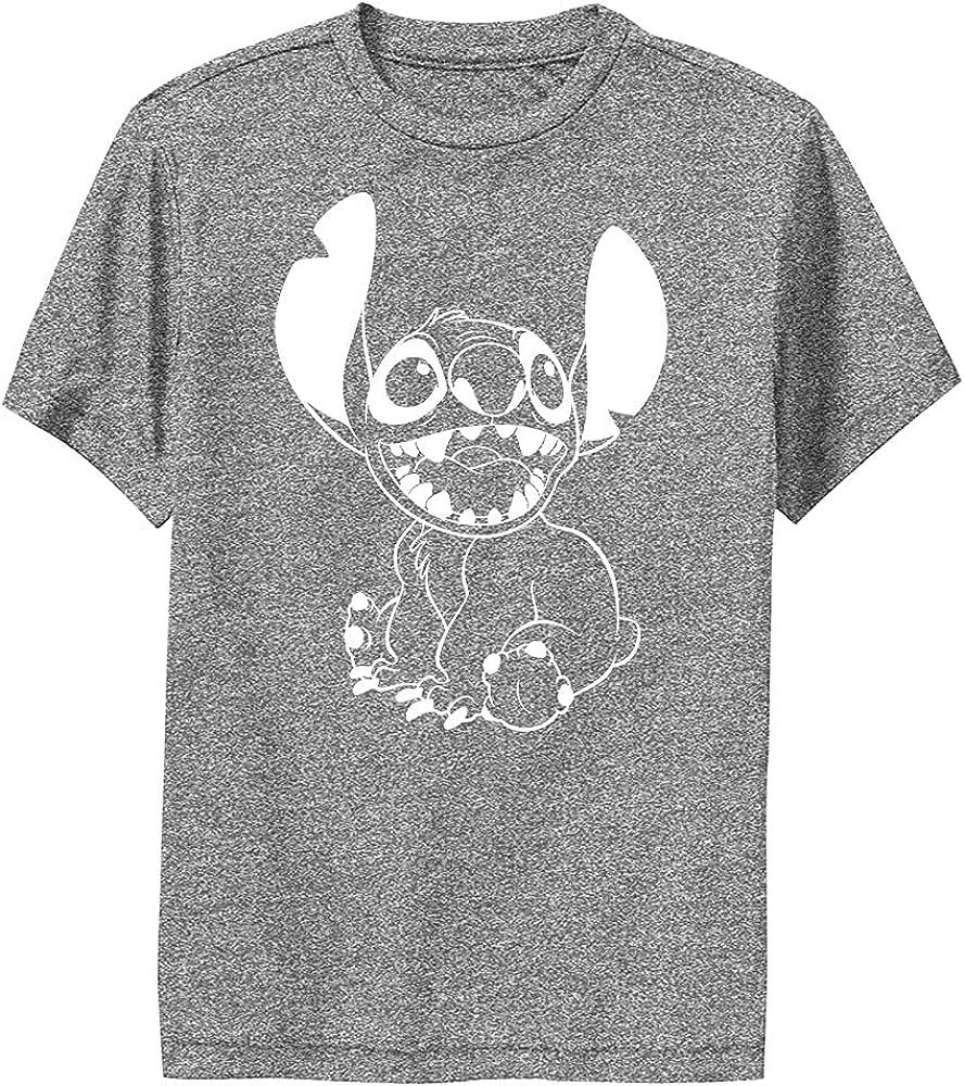 Disney Lilo & Stitch Negative Stitch Boy's Performance Tee