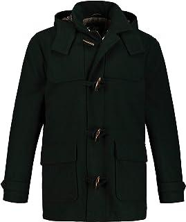 JP 1880 Men's Big & Tall Plaid Lined Duffel Coat 711393