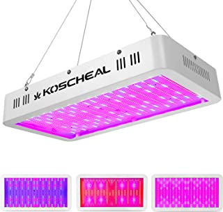 2000W LED Grow Light Full Spectrum, Plant Grow Light with Veg and Bloom Switch for Hydroponic Indoor Plants KOSCHEAL LED G...