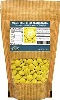 Yellow Milk Chocolate M&M's Candy (1 Pound Bag)