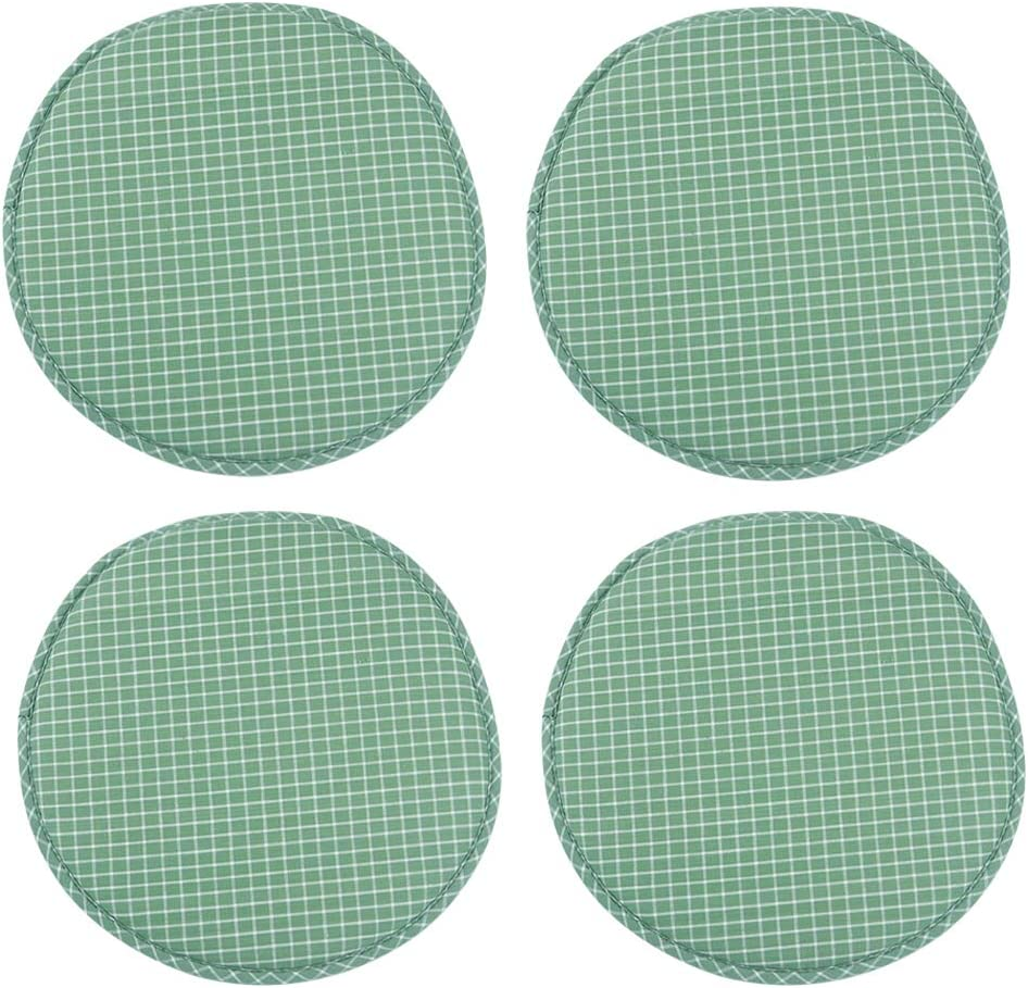 Suntop Round Non Slip Kitchen Dining Seat Cushions High Stool Chair Pads Bar Chair Cushion Set With Ties 13 Inch Pack Of 2 Blue Kitchen Table Linens Kitchen Dining Rayvoltbike Com