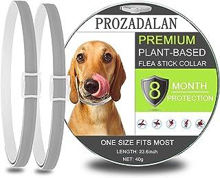 comprar comparacion PROZADALAN Collar Antiparasitario para Perros, Impermeable, Diseño Impermeable y 8 Meses, Eficaz, Natural para Pequeños An...