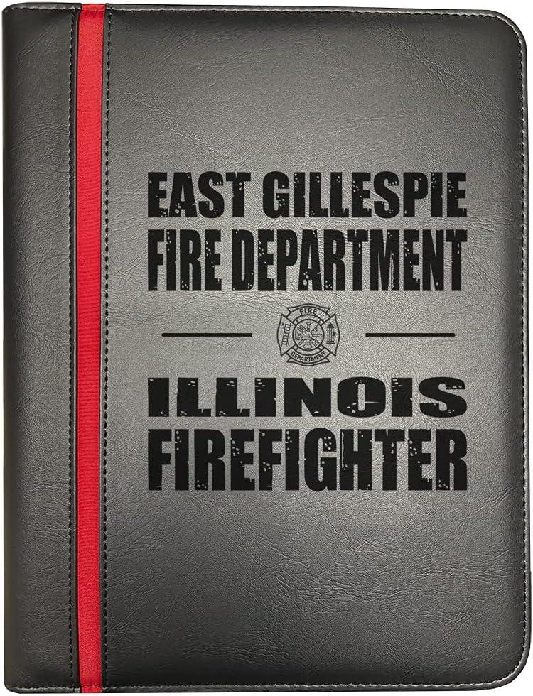 East Gillespie Illinois Philadelphia Mall Fire Departments Red Thin Award-winning store Firefighter Li