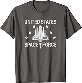 Space Force T-Shirt | Futuristic Sci-Fi Outer Space Graphic