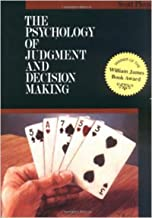 Best the psychology of judgment and decision making Reviews
