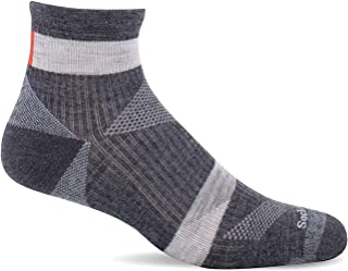 Sockwell Men's Traverse Quarter Moderate Compression Sock