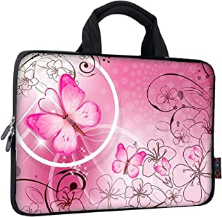 iColor 9.7 10 10.1 10.2 inch Neoprene Tablet Bag Carring Case Sleeve Cover with Handle for 9.7 to 10.2 Inch Laptops/Notebo...