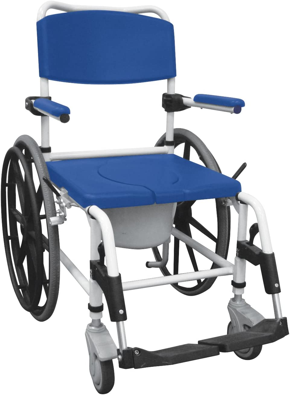 Drive Medical Aluminum Shower 新作入荷 Mobile Mo Transport Chair Commode 訳あり