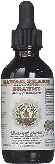 Brahmi Alcohol-FREE Liquid Extract, Organic Brahmi Liquid (Bacopa Monnieri) Whole Herb Dried Glycerite 2 oz