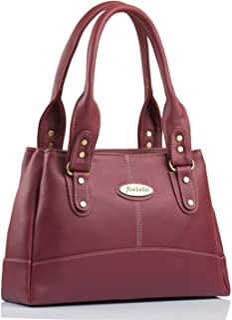 Fostelo Women's Catlin Handbag (Maroon) (FSB-1033)