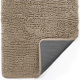 Gorilla Grip Original Indoor Durable Chenille Doormat, 48x30, Absorbent, Machine Washable Inside Mats, Low-Profile Rug Doo...