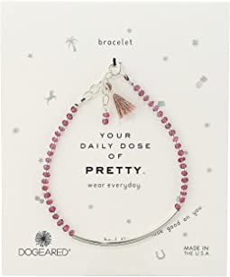 Your Daily Dose of Pretty Tube w/ Beaded Gems Bracelet