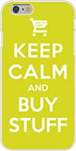 Apple iPhone 6+ (Plus) Custom Case White Plastic Snap On - Keep Calm and Buy Stuff Add to Cart Online Shopping