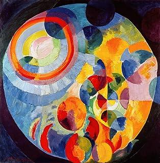 Kunst für Alle Reproduction/Poster: Robert Delaunay Formes circulaires Soleil et Lune - Affiche, Reproduction Artistique d...