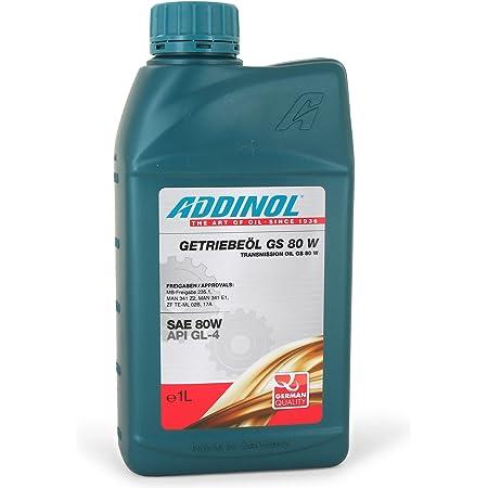 Addinol 3x Getriebeöl Gear Transmission Oil Fluid Lubricant Sae 80w Gs 80 W 1l 74200107 Auto
