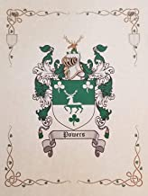 Braddock Coat of Arms, Family Crest 8.5x11 Print - Surname Origin: England/English