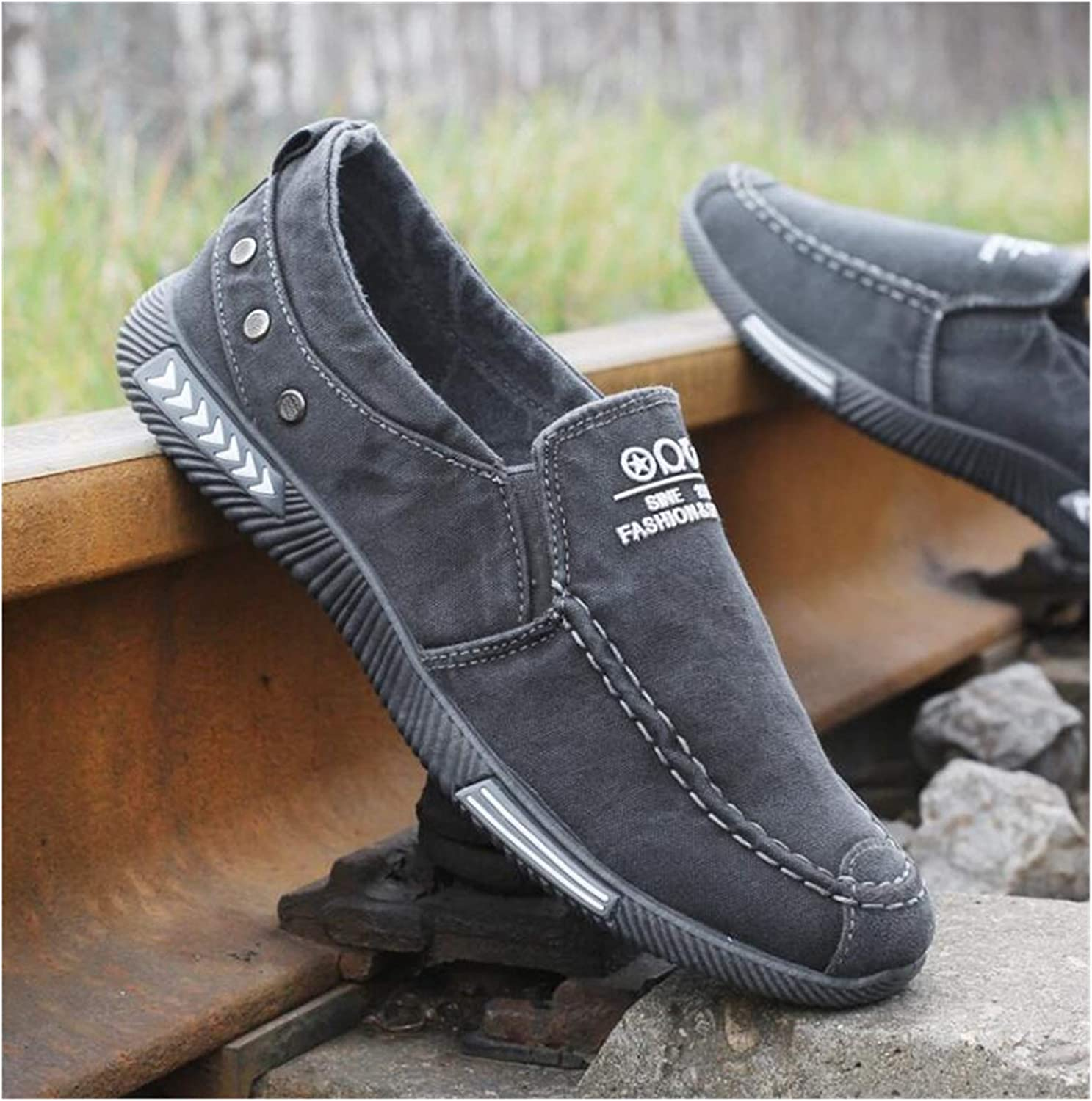 ZIJ Men Free Shipping Cheap Bargain Gift Shoes Moccasins Lace Mal Up Soft Vulcanize Direct store Leisure
