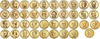 2007 D 2007-2016 39 Coin Presidential Dollar Complete Set Uncirculated