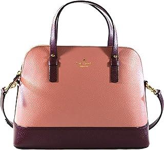 50b793929 Kate Spade Grand Street Small Rachelle Leather Colorblock Dusty Peony Multi  Satchel Crossbody