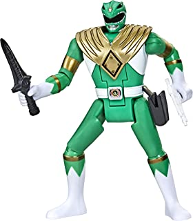 Power Rangers Retro-Morphin Green Ranger Tommy Fliphead Action Figure Inspired by Mighty Morphin Toy Kids Ages 4 and Up