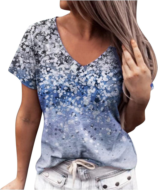 Sayhi Women Casual Cotton Short Sleeve Flower Print Shirt Women Slim Jacket Shirt Top Print Blouse
