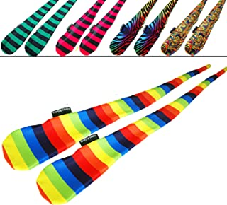 Funky® Sock Poi Set (5 Designs) Pro Poi Spinning Socks AKA Tube Poi