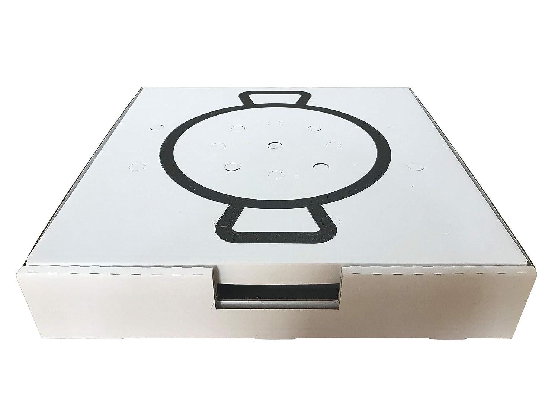 Cajas para Paellas (40X40 cm.): Amazon.es: Industria, empresas y ciencia