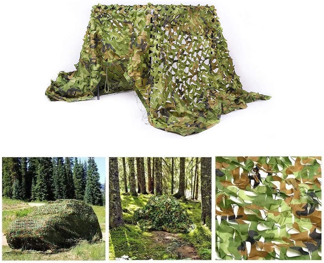 Long-awaited Camo Special sale item Netting with Mesh Backing Net Military Woodland Camouflage