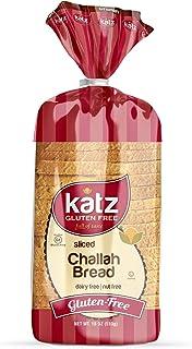 Katz Gluten Free Sliced Challah Bread | Dairy Free, Nut Free, Gluten Free | Kosher (1 Pack of 1 Sliced Loaf, 18 Ounce)